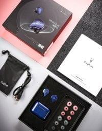 sabbat E12 ultra Glitter Galaxy Blue Wireless Earbuds