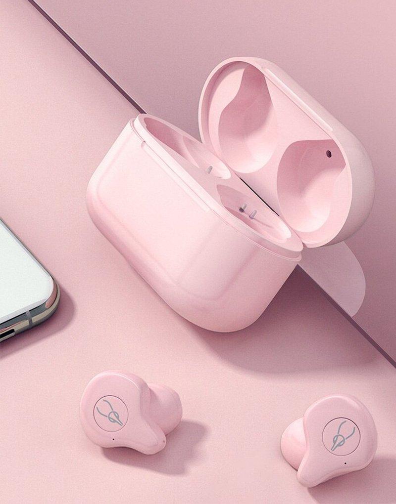 sabbat x12 pro pink wireless headphones bluetooth earphones 3