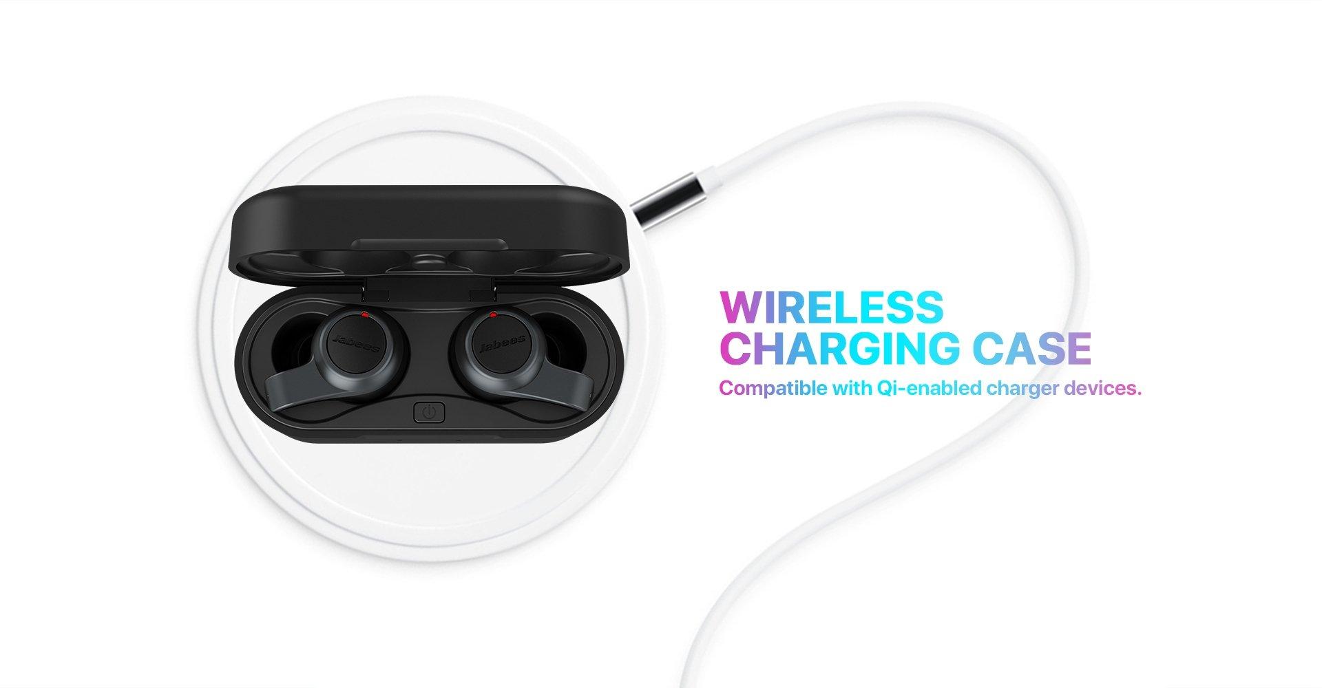 Jabees Firefly 2 Black Touch TWS Earbuds Waterproof & Dustproof IPX7 12