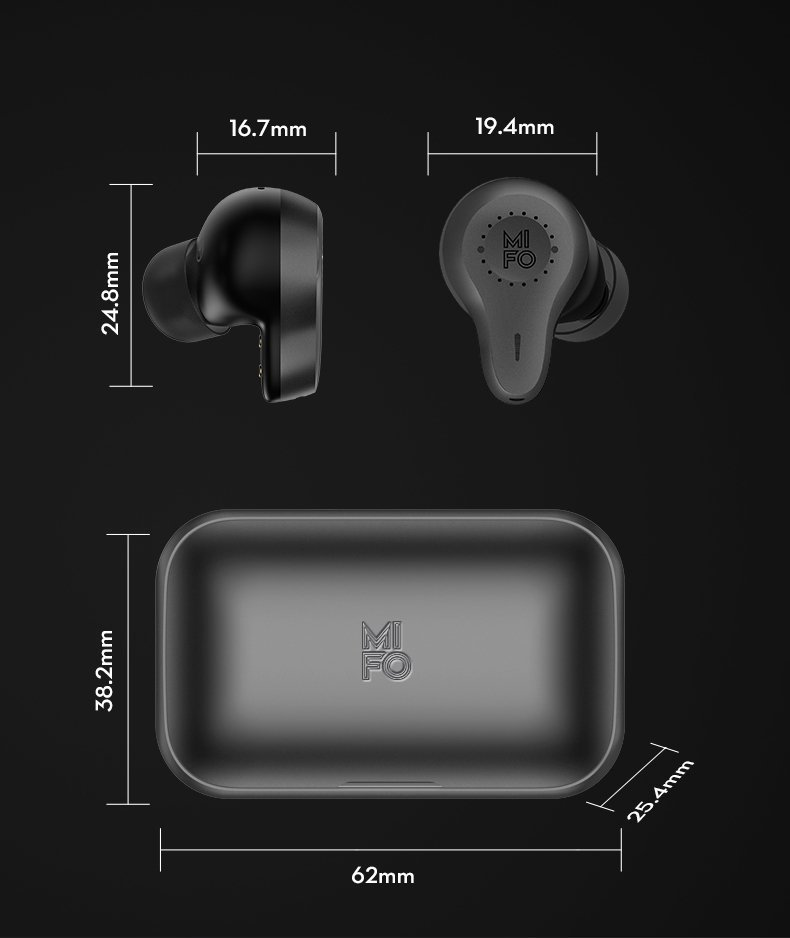 MIFO O7 Wireless Earbuds Ireland
