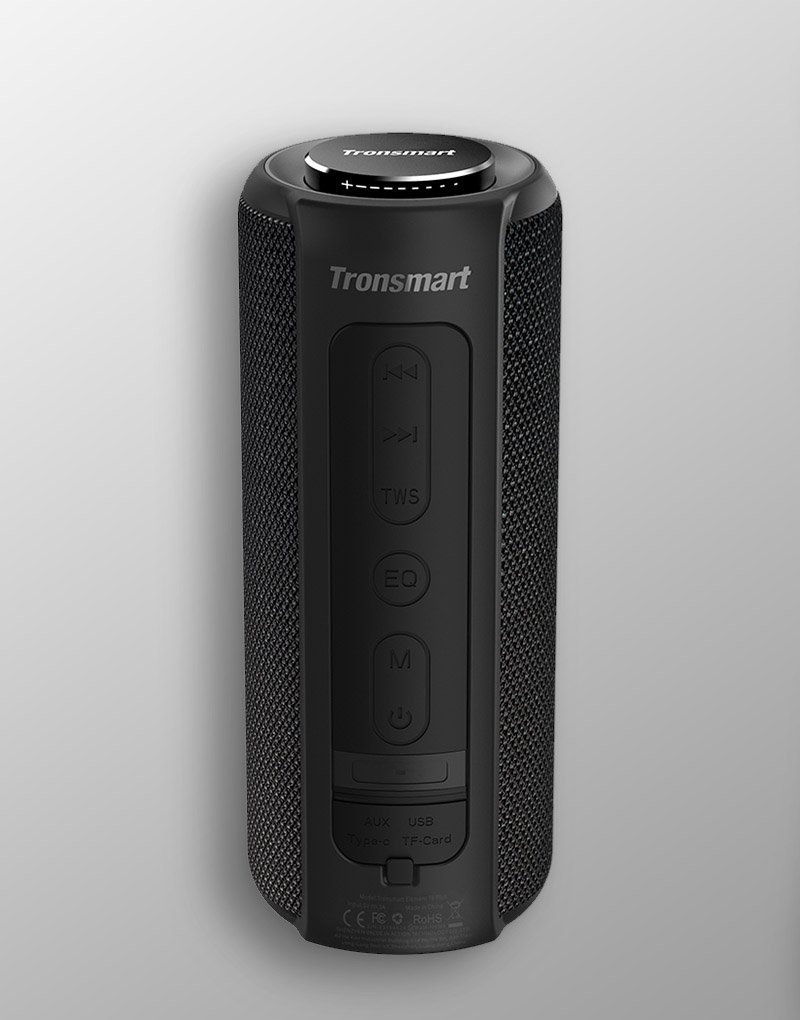 bluetooth speaker tronsmart t6 plus upgraded