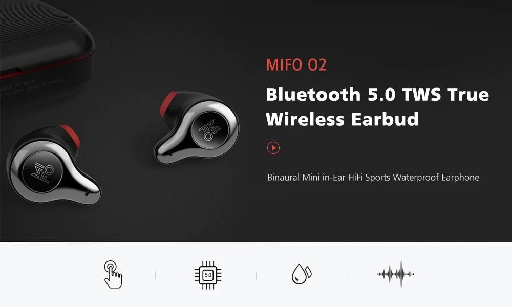 mifo o2 wireless bluetooth earbuds