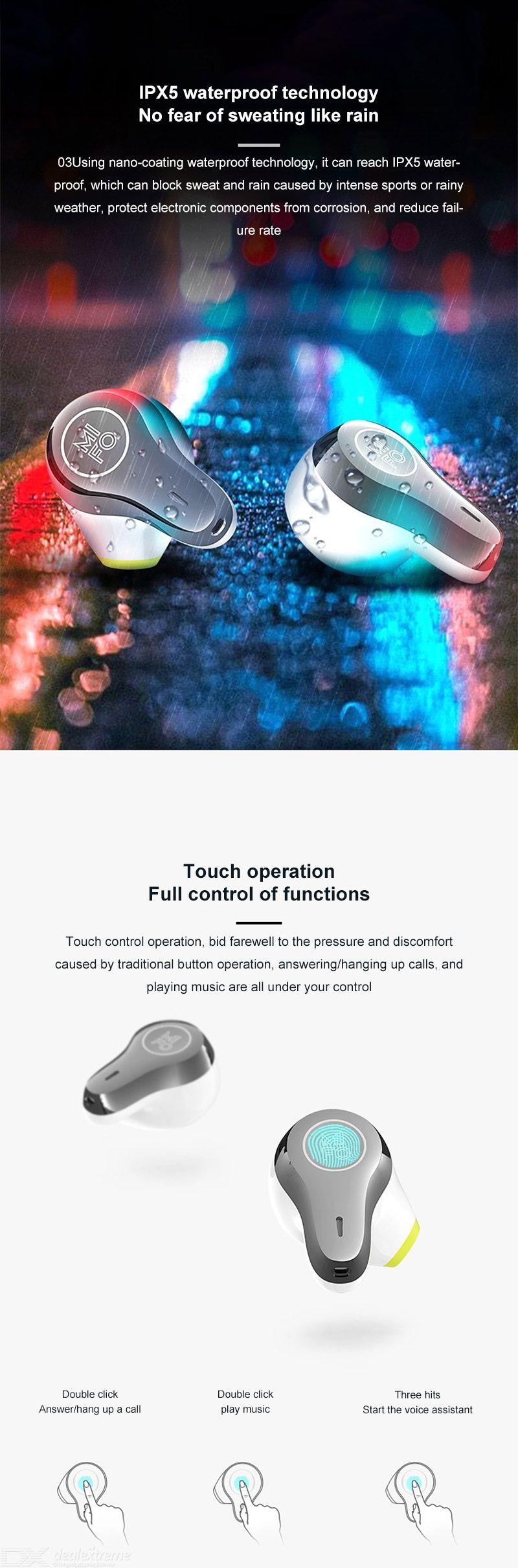 MIFO O3 True Wireless Earbuds TWS In Ear Mini Bluetooth Earphones 1